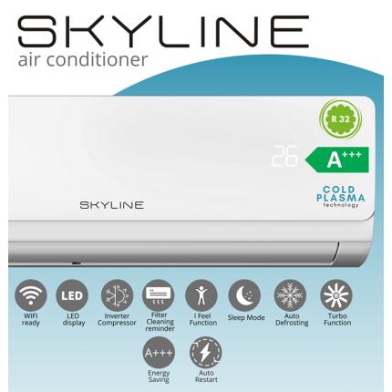 Клима уред инвертер 3,6kW SKYLINE