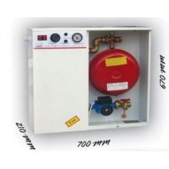 Електричен котел - моноблок со Giacomini елементи 9kW-36kW